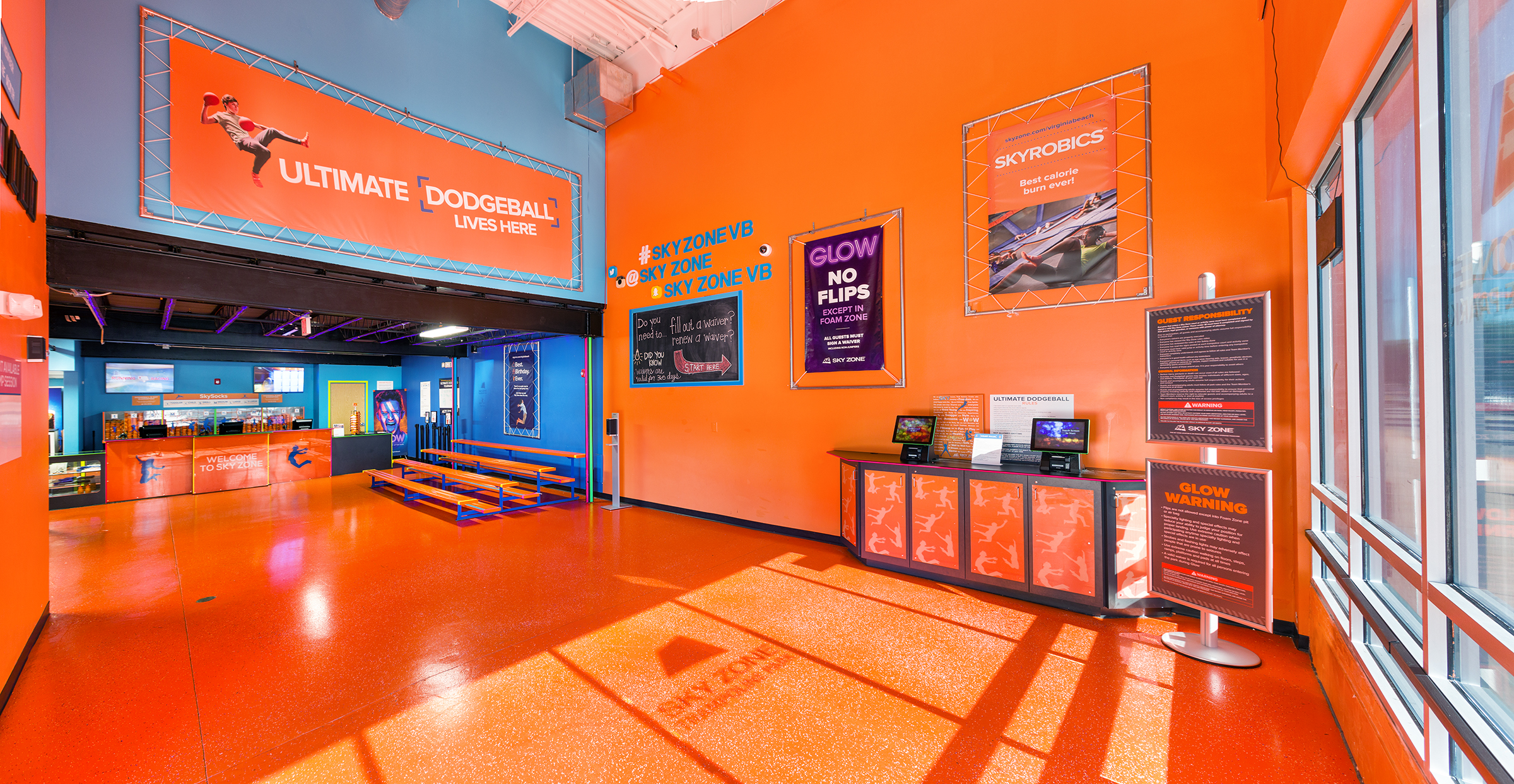 Sky Zone Va Beach5075