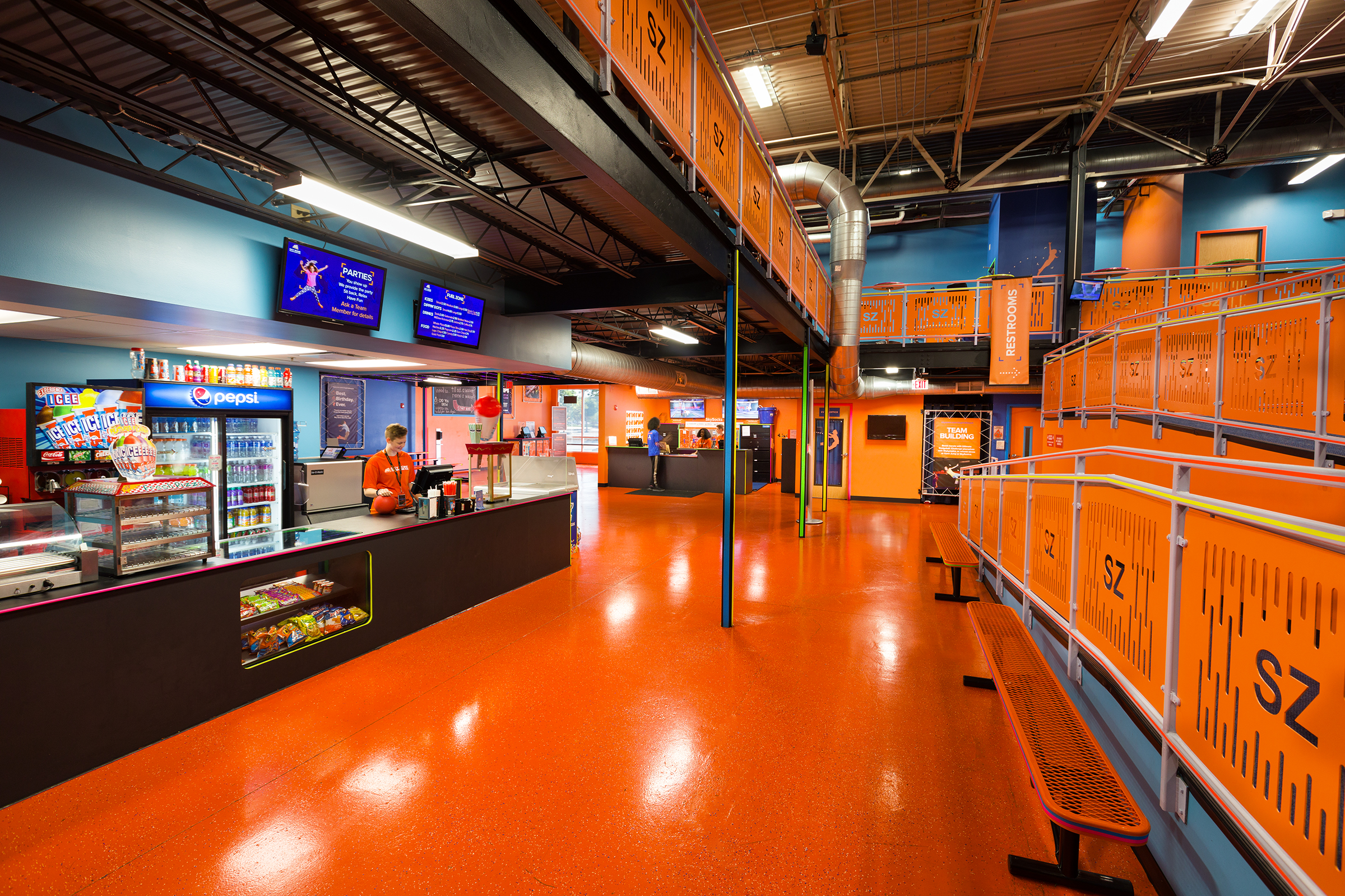Sky Zone Va Beach5176